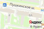 Схема проезда до компании Димфарм в Пушкино