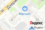 Схема проезда до компании Магазин овощей и фруктов в Котельниках