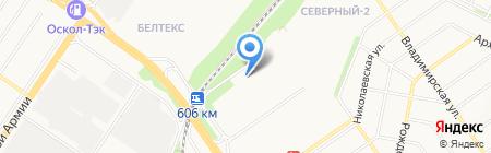 Авто Эвакуаторы на карте Старого Оскола