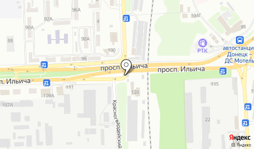 Компания по изготовлению памятников. Схема проезда в Донецке