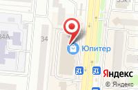 Схема проезда до компании Newform в Королёве