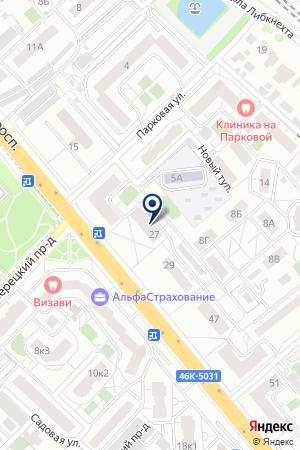 ФАБУЛА-2000 на карте Люберец