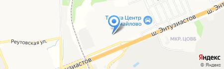 Легран на карте Балашихи