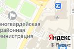 Схема проезда до компании OknaDveri в Макеевке