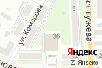 Схема проезда до компании Спутник-НТ Новые технологии в Макеевке