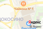 Схема проезда до компании Церковная лавка в Москве