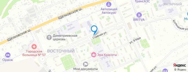посёлок Восточный