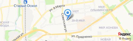 Ёлкин двор на карте Старого Оскола