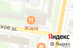 Схема проезда до компании Продэкс в Пушкино