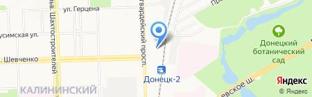 Мебель люкс на карте Донецка