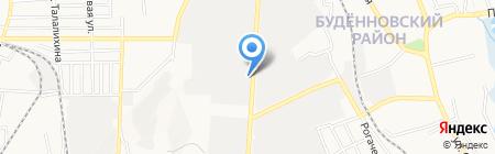 Модерн плюс на карте Донецка