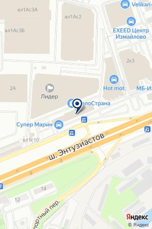 АЗС ГРЭНД-БАЛАШИХА на карте Балашихи