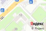 Схема проезда до компании Заводские двери в Котельниках