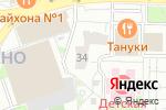 Схема проезда до компании Магазин семян на Новокосинской в Москве