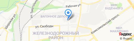 Промснаб РТИ-Сервис на карте Старого Оскола