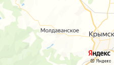 Отели города Молдаванское на карте