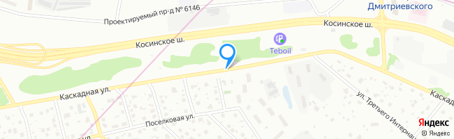 Каскадная улица