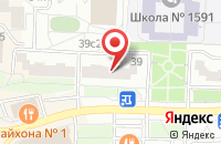 Схема проезда до компании Би-Строй в Москве