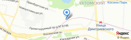 СпецЭкоТранс на карте Москвы