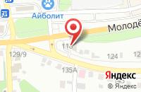Схема проезда до компании OZON.ru в Старом Осколе