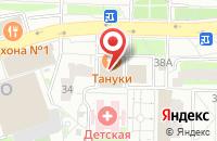 Схема проезда до компании Трувик в Москве