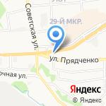 Магазин мототехники на ул. Прядченко на карте Старого Оскола