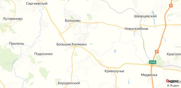 Пятницкое на карте