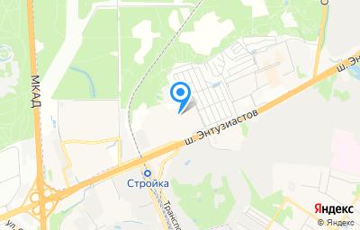 Местоположение на карте пункта техосмотра по адресу Московская обл, г Балашиха, тер Западная коммунальная зона, ш Энтузиастов, влд 2