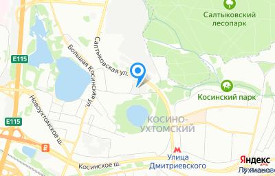 Местоположение на карте пункта техосмотра по адресу г Москва, ул Оранжерейная, д 25А