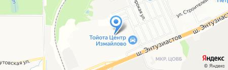 Форд Центр Измайлово на карте Балашихи