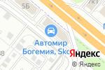 Схема проезда до компании Автомир в Котельниках