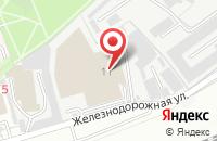 Схема проезда до компании Курский завод строительных конструкций в Реутове