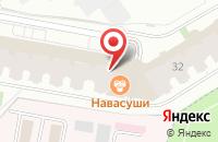 Схема проезда до компании ARISH-KA в Дзержинском
