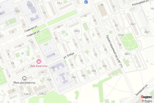 Ремонт телевизоров Улица 9 Мая на яндекс карте