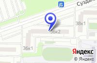 Схема проезда до компании ЭЛАЙТЕД в Москве