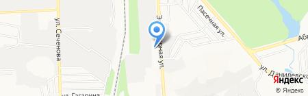 Точка на карте Донецка