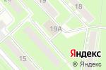Схема проезда до компании ТехФаргос в Пушкино