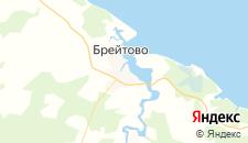 Гостиницы города Брейтово на карте