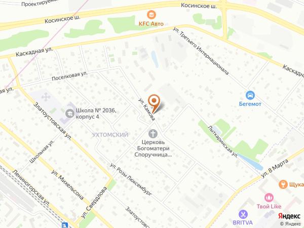 Остановка «Лыткаринская ул.», улица Камова (9082) (Москва)