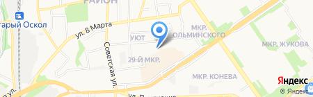 Продэкс-М на карте Старого Оскола