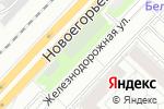 Схема проезда до компании Администрация городского округа Котельники в Котельниках