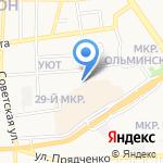 Воронежский оконный завод на карте Старого Оскола