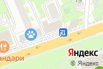 Схема проезда до компании ДонерДрайв в Реутове