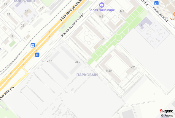 жилой комплекс Белая Дача парк