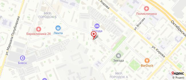Карта расположения пункта доставки Люберцы 3-е почтовое отделение в городе Люберцы