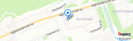 Сити-Мед на карте Балашихи