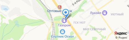 АВТО-ОСКОЛ на карте Старого Оскола