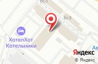 Схема проезда до компании Союз-Гарант в Котельниках