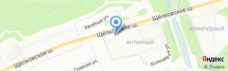 Subway на карте Балашихи