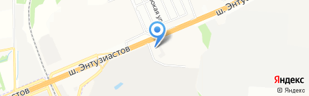 Альт Телеком на карте Балашихи